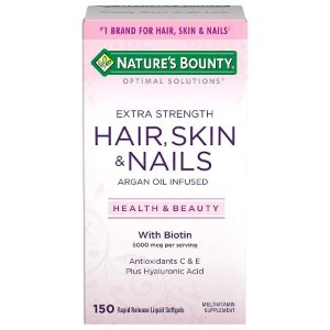 Hair Skin and Nails 150 Caps Natures Bounty