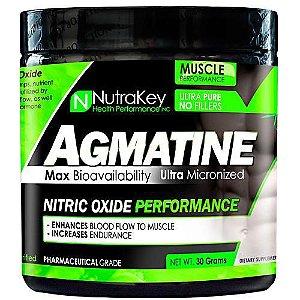 Agmatina 1000mg 30 doses Nutrakey