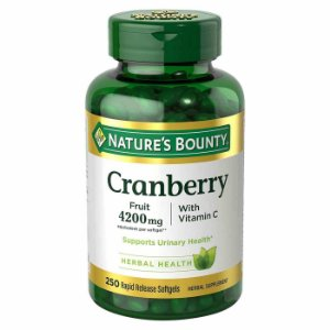 Cranberry 4200mg 250 Caps Nature's Bounty