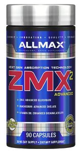 ZMA Zmx2 Advanced 90 Caps Allmax
