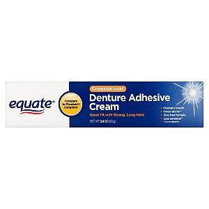 Creme Fixador de dentadura Ultra Forte 68g Equate