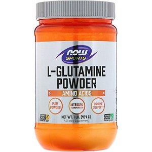 L-Glutamina 454g Now Foods