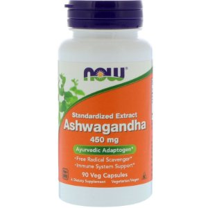 Ashwagandha 450mg 90 Caps Now Foods