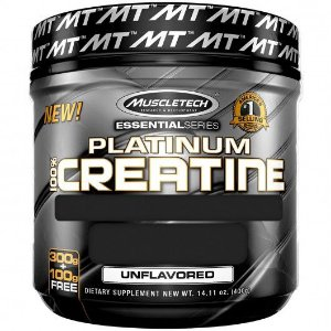Platinum 100% Creatina 400g Muscletech