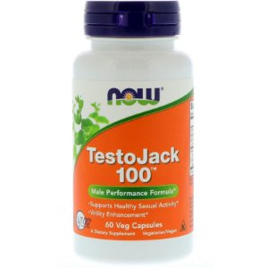 TestoJack 100 60 Veg Caps Now Foods