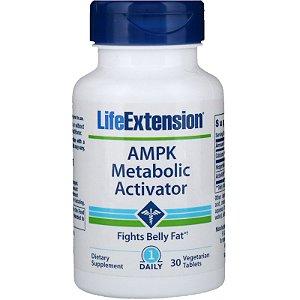 AMPK 30 Caps Ativador Metabólico Life Extension