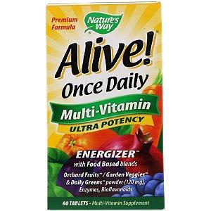Multivitamínico Alive 60 Tabletes Nature's Way