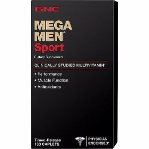 Mega Men Sport 180 caps GNC