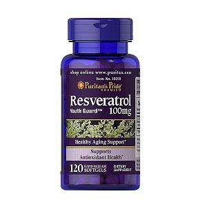 Resveratrol 100mg 120 Caps Puritan's Pride