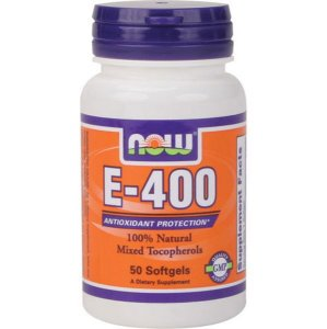 Vitamina E 400ui 50 Softgels Now Foods