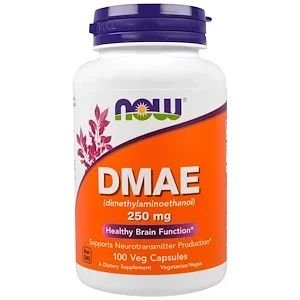 DMAE 250mg 100 Caps Now Foods