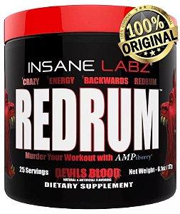 Pré-Treino Redrum 25 doses Insane Labz