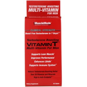 Vitamina T Testo Booster 90 Tabletes Musclemeds
