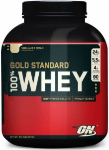 100% Whey Protein Gold Standard (5LB - 2352g) - Optimum  Nutrition