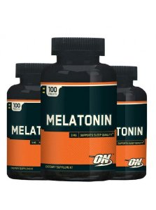 Combo 3 unidades Melatonina 3mg 100 caps - Optimum Nutrition
