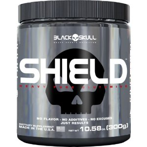 Glutamina Shield (300g) - Black Skull