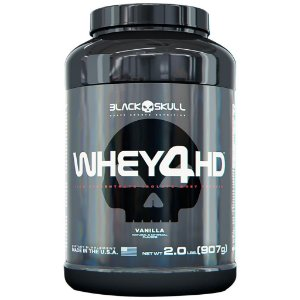 Whey 4HD (907g e 2.2kg) - Black Skull