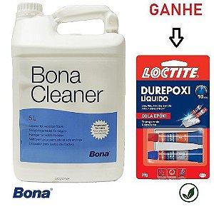 *Saldo de estoque = Bona Cleaner 5L limpador para pisos de madeira + brinde = durepoxi liquido