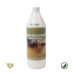 Cera resistente acetinada W&W  (para diversos pisos)