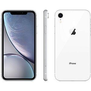 "iPhone XR Apple (128GB) Branco Tela 6,1"" 4G Câmera Traseira 12MP iOS SEMI NOVO"