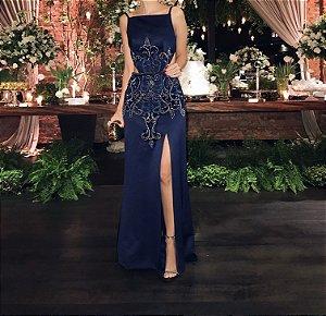 927059067 VESTIDO DE FESTA LONGO - Livia Fashion - Atelier de costura. Fazemos ...
