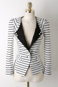 BLAZER LISTRADO S PS9W2R3AM