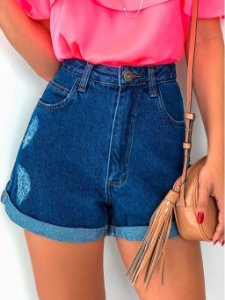 SHORT HOT PANTS COM RALEIRA LATERAL K JW2WHTWLU