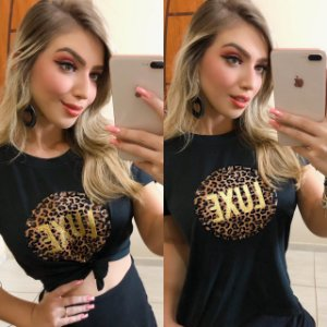 T-SHIRT ESTAMPA LUXE P GHD4SY6TQ  F006