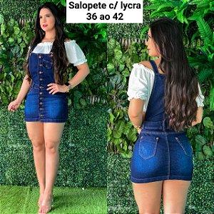 SALOPETE SAIA COM LYCRA P 6HXERW7PA  F039
