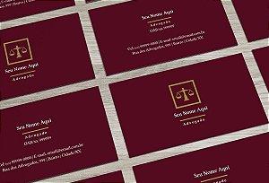 Cartão de Visita Advogado M0005