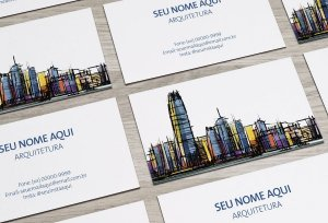 Cartão de Visita Arquiteto M0001