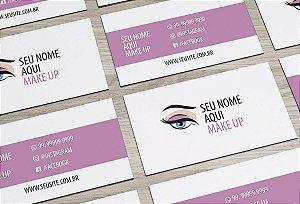 Cartão de Visita Makeup M0001