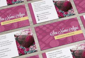 Cartão de Visita Makeup M0003