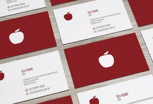 Cartão de Visita Nutricionista M0001