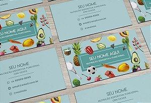 Cartão de Visita Nutricionista M0004
