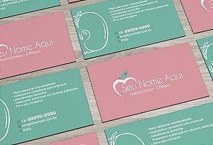 Cartão de Visita Nutricionista M0005