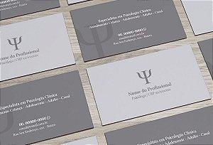 Cartão de Visita Psicólogo M0001