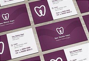 Cartão de Visita Dentista M0004