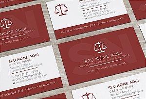 Cartão de Visita Advogado M0013