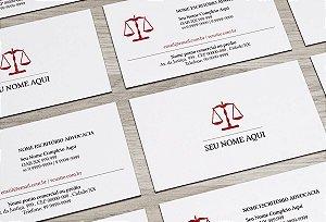 Cartão de Visita Advogado M0014