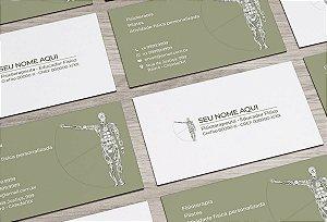 Cartão de Visita Fisioterapeuta M0005