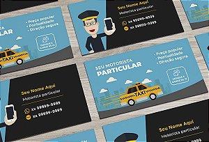 Cartão de Visita Motorista Particular M0004