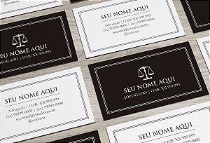 Cartão de Visita Advogado M0021