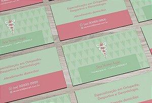 Cartão de Visita Fisioterapeuta M0006
