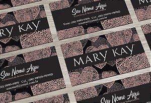 Cartão de Visita Mary Kay M0006