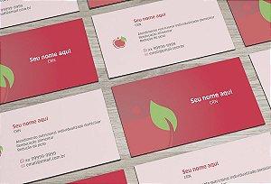 Cartão de Visita Nutricionista M0002
