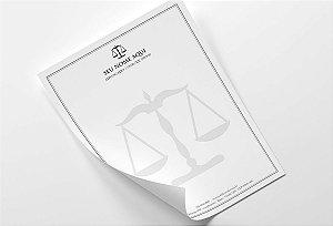 Timbrado Advogado M0021