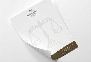 Timbrado Advogado M0036