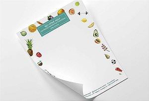 Receituário Nutricionista M0004