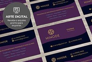 Cartão de Visita (somente a arte) Hinode M0003